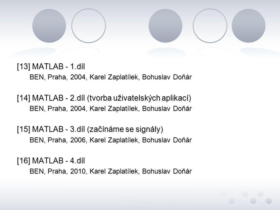 [14] MATLAB - 2.díl (tvorba uživatelských aplikací)